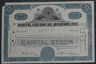 North American Aviation, Inc. 1964 30 Shares .