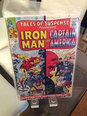 Tales Of Suspense 66 Vol 1 Key 1st Silver Age Appearance Of The Red Skull Jun 65