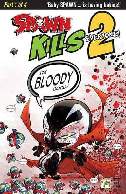 SPAWN KILLS EVERYONE TOO #1 CVR B Bloody Variant McFarlane Image NM 12/12/18
