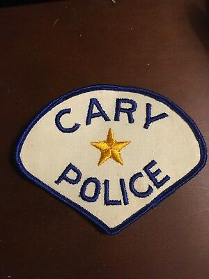 Illinois,Cary obsolete police patch HTF