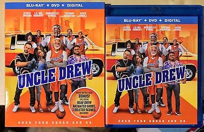 UNCLE DREW (Blu-ray+DVD+2018) W/slipcover And Digital Copy Like New