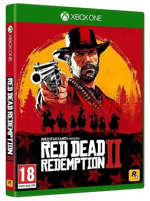 Red Dead Redemption Ii 2 Xbox One Nuovo Sigillato Pal Italiano Originale Dvd Gta