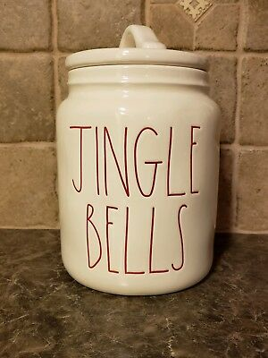 Rae Dunn JINGLE BELLS canister