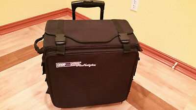 Crop-In-Style Na Navigator Rolling Travel Tote Bag