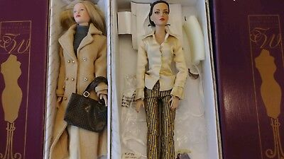 "Tonner Dolls Tyler Wentworth 16"" lot of 2"