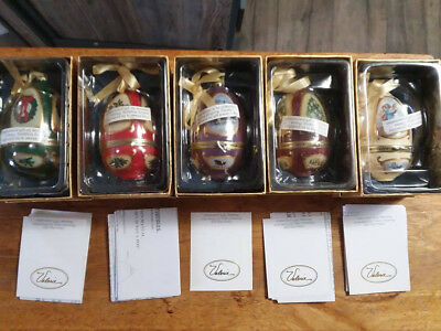 mr christmas musical ornament lot 5 quantity