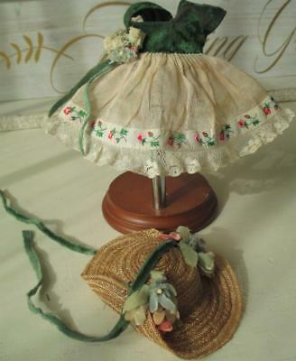 ~ 1950's Vogue Ginny Doll Debutante Series Dress Set with Hat ~
