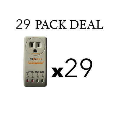 24 PACK DEAL Refrigerator 1800 Watts Voltage Brownout Appliance Surge Protector