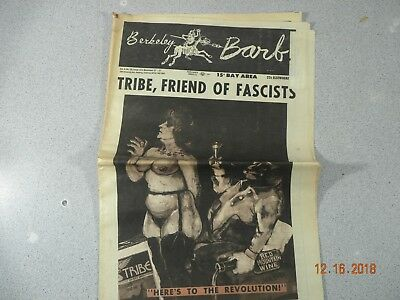 Berkeley Barb # 223, 1969 Underground Friend of Fascists Heres to the Revolution