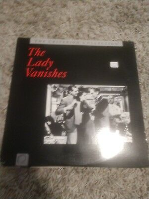 The lady vanishes   criterion collection    laserdisc