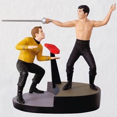 "Hallmark Keepsake Ornament 2018 ""the Naked Time"" Star Trek Nib Free Shipping"