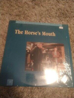 The horse's mouth.   criterion collection    laserdisc