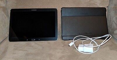 Samsung galaxy tab pro 10.1 tablet SM-T520 - Great Condition - Includes Case