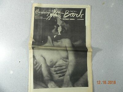 Berkeley Barb # 226, 1969 Underground Mick Jagger At His Satanic Majesty Request