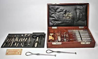 WWI HISTORIC EYE SURGICAL INSTRUMENTS 1917 G.P. Pilling & Son Co. Phil