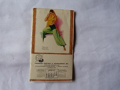 1957 Advertising Notebook Foremost Electric & Transmission Peoria Illinois
