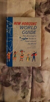 1957 Pan American Airlines NEW HORIZONS-A Guide To World Travel 576 pp HC