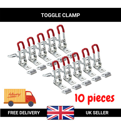 Toggle Clamp Hand Tool Quick Holding Latch - 5 pcs (Capacity: 100 kg 220 lbs)