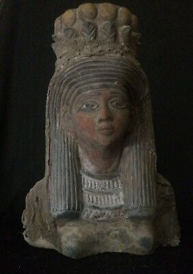 ANCIENT EGYPTIAN ART EGYPT Antiquities STATUE QUEEN Ahmose Nefertari - 5Kg STONE