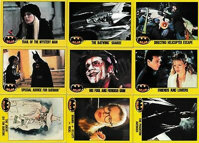 Opened pack of Topps 1989 Batman the movie 2nd series movie cards