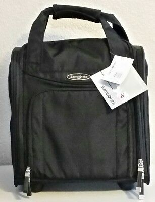 New Samsonite Small Wheeled Upright Underseater Bag Carry On - Black