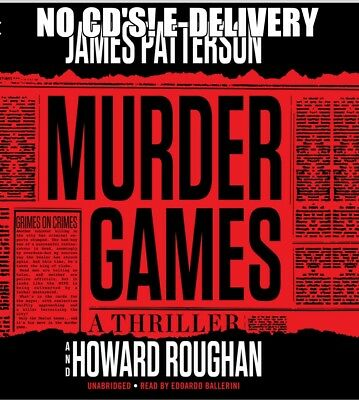 Murder Games by James Patterson (Unabridged) Audiobook E-Delivery