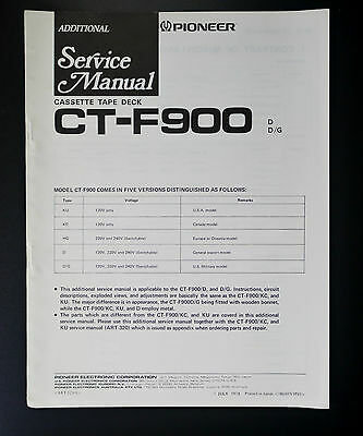 Tv, Video & Audio Pioneer Ct-2070r Original Repair & Adjustments Incl.additional & Schaltplan O37