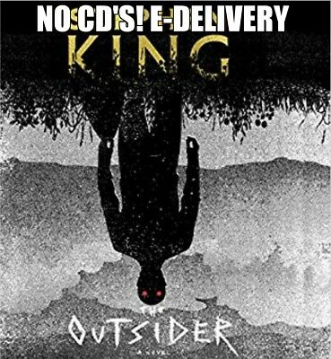 The Outsider A Novel by Stephen King Unabridged Audiobook E-Delivery