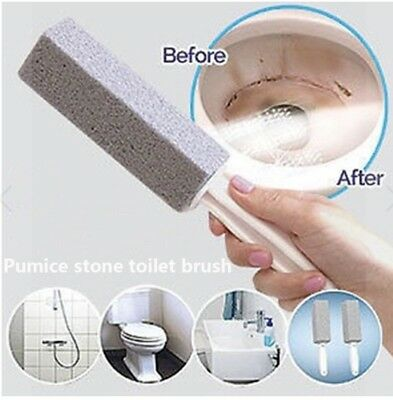 Pumice Stone Scouring Handle Stick For TOILET. OVEN. GRILL. AND MORE 1/2/3/4/5/6