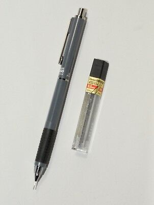 Vintage NIJI Grip 350 Automatic 0.5mm Pencil in Grey, Made in Japan NOS