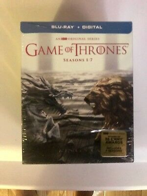 Game of Thrones: The Complete Seasons 1-7 Blu-ray Discs NO DIGITALCODES