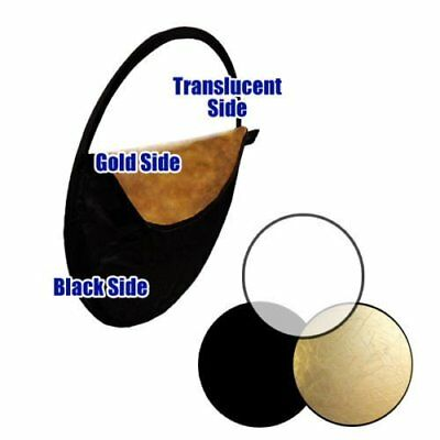 5 in 1 Photography Studio Light Mulit Collapsible disc Reflector With Bag QW