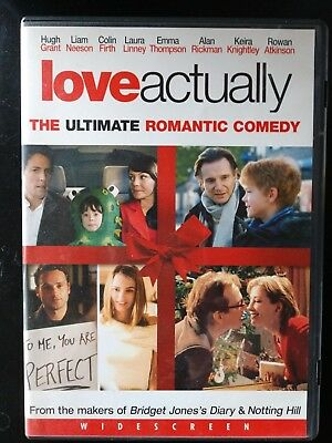 Love Actually DVD widescreen Liam Neeson Hugh Grant Keira Knightley Laura Linney