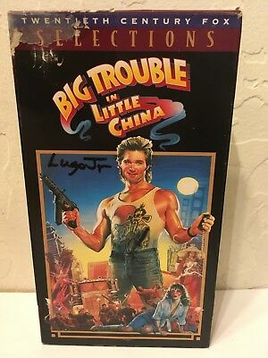 Big Trouble in Little China (1986) used VHS. John Carpenter