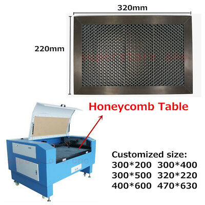 HONEYCOMB WORK BED Table Platform CO2 40W 50W Tube Laser
