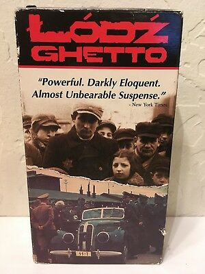 Lodz Ghetto (1988) used VHS. Documentary