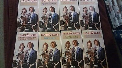 The Hardy Boys Vhs Collection of 8. Rare 1977