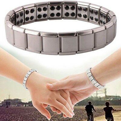 Titanium Magnetic Therapy Bracelet Pain Relief Gift for Arthritis Carpal Tunnel