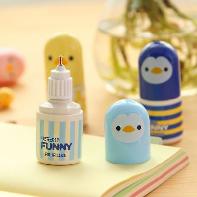 Correction Fluid Corrector Tape  Office School Supplies Lovely Chick Stationery