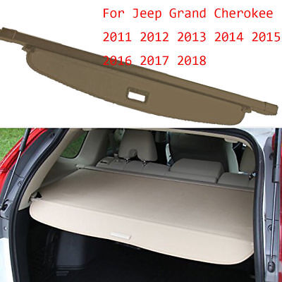 Car Rear Trunk Cargo Cover For Jeep Grand Cherokee 06-2010 Security Shield Shade
