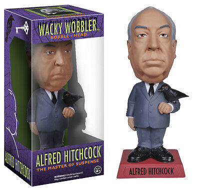 Funko Alfred Hitchcock Wacky Wobbler Bobble Head Brand New