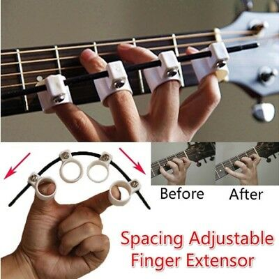 Spacing Adjustable Finger Extensor Guitar Trainer for Beginner Finger Expansion