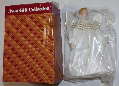 Avon Gift Collection Victorian Angel Ornament In box