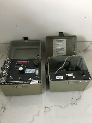 Biddle Instruments DLRO Digitial Low Resistance Ohmmeter Plus Charger Pack