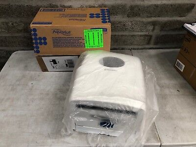 Kimberly Clark 6989 Aquarius Hand Towel Dispenser White for Scott Rolled Towel