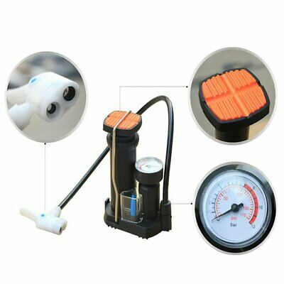 MTB Compact Bike Mini Pump for Mountain and Road - Tyre Tire Air Pressure Gauge