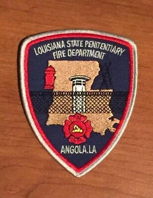 Defunct Louisiana State Corrections Penitentiary Angola Dept. Old Style Patch