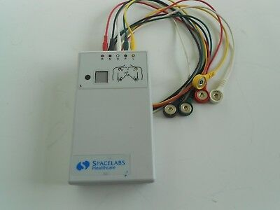 Spacelabs Digital Telemetry Transmitter 90341-50 Ch.No.425.+ Cables Free UK P&P.