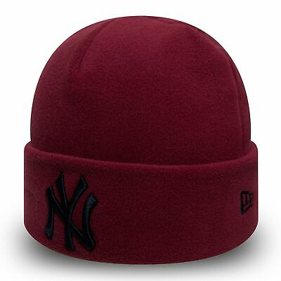 MLB New York Yankees Era Winter Utility Micro Fleece Knit Cardinal/Navy Kids