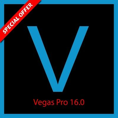 MAGIX Vegas Edit 16.0 Pro Videos Editing 100% Working Fast devilry for 64Bit